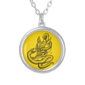 Skull - Devil Head with Snake Custom Jewelry