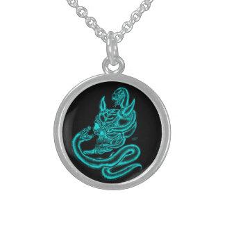 Skull - Devil Head with Snake Pendant