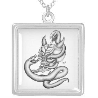 Skull - devil heads with queues custom jewelry