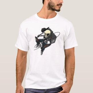 Skull DJ Ninja T-Shirt