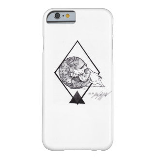 Skull Dotwork Barely There iPhone 6 Case