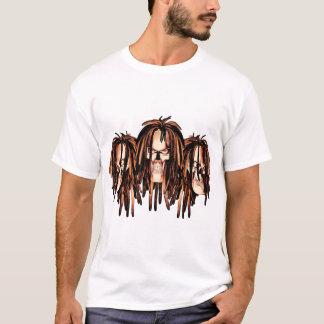 Skull Dreadlocks T-Shirt
