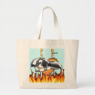 skull-eagle3.png large tote bag