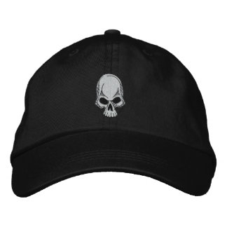 Skull Embroidered Hat