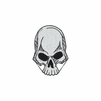 Skull Embroidered Shirt
