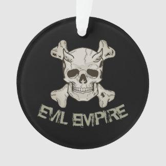 Skull Evil Empire Ornament
