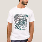 Skull Eye 65th Birthday Gifts T-Shirt