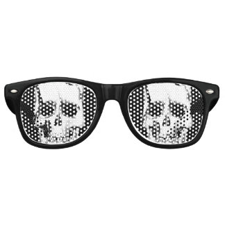 Skull Face Retro Sunglasses