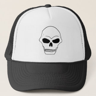 Skull Face Trucker Hat