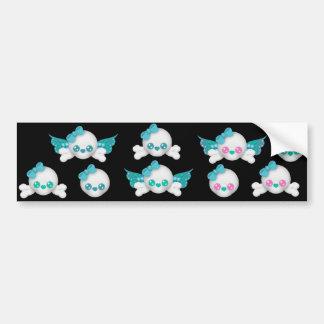 Skull Faery sticker sheet 12 Bumper Sticker