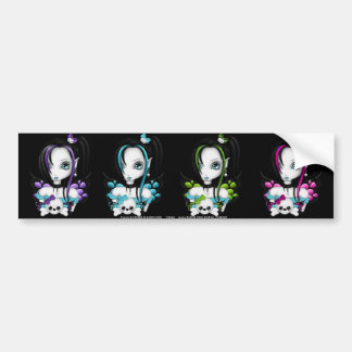 Skull Faery Sticker Sheet 2 Bumper Stickers