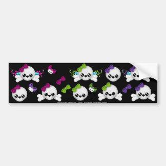 Skull Faery sticker sheet 4 Bumper Sticker