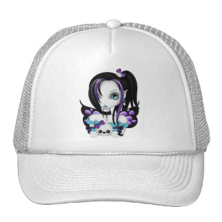 Skull Faery Trucker Hat
