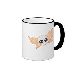 Skull Fairy Orange Coffee Mug