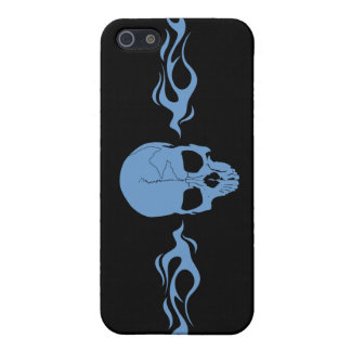 Skull Flames Custom iPhone4 Case iPhone 5 Cases