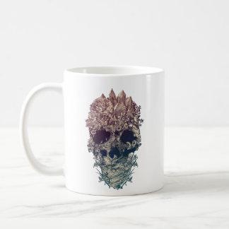 Skull Floral Coffee Mug