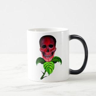 Skull Flower Mugs