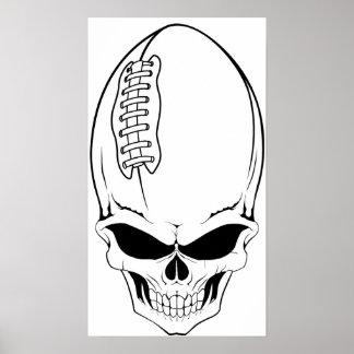 skull football 2 poster