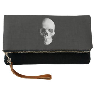 Skull For Horror Fans and Goths Clutch