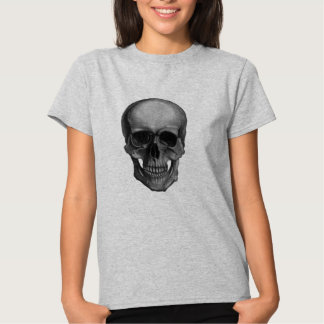 Skull For Horror Fans and Goths T-shirts