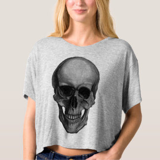 Skull For Horror Fans and Goths T Shirts
