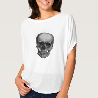 Skull For Horror Fans and Goths Tshirts