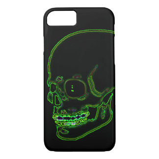 Skull funky neon green! iPhone 8/7 case