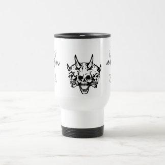 Skull Fury and Frustration Mug