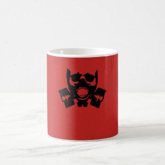 Skull Gas Mask Funny Coffee Mug