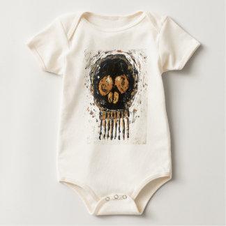 Skull Gold Mine Baby Bodysuit
