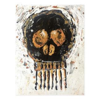 Skull Gold Mine Postcard