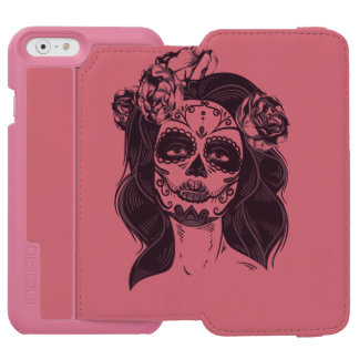 Skull Gothic Incipio Watson™ iPhone 6 Wallet Case