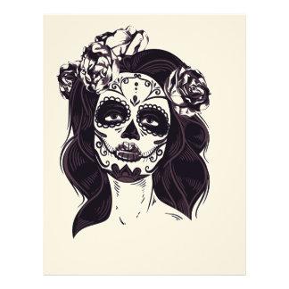 Skull Gothic Letterhead