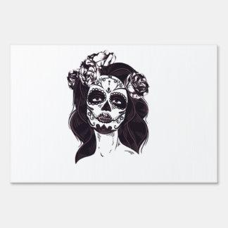 Skull Gothic Sign