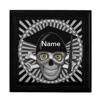Skull Grad Custom Name Gift Box