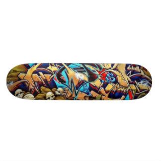 Skull Graff Deck Skateboard