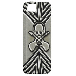 Skull, Guitars and Headphones iPhone 5 Cover