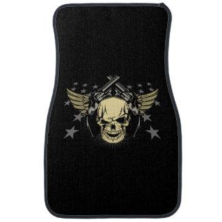Skull Guns Wings Stars Auto Floor Mats