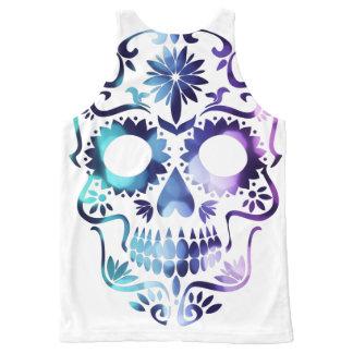 Skull Halloween Symbol All-Over-Print Tank Top