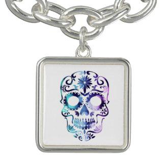 Skull Halloween Symbol Bracelet