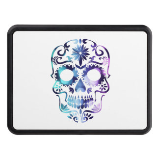 Skull Halloween Symbol Trailer Hitch Cover