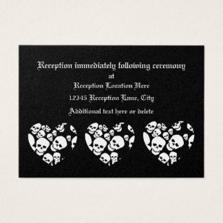 Skull Hearts Business Card