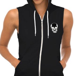 Skull Hoodie - Bare Bones Skull