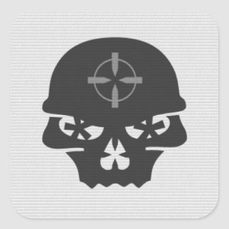 Skull Hunter - Sticker
