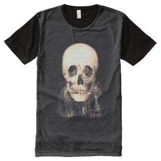 Skull Illusion All-Over-Print T-Shirt