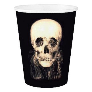 Skull Illusion Paper Cup