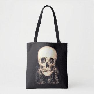 Skull Illusion Tote Bag