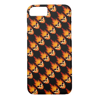 Skull In Flames Case-Mate iPhone Case