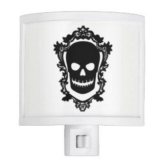Skull in Frame Night Light