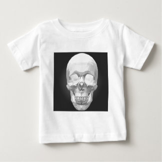 Skull in Low Poly Baby T-Shirt